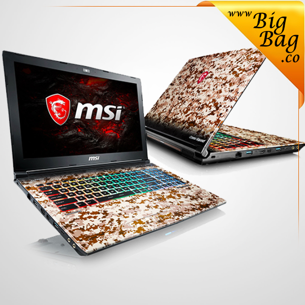 bigbag_MSI GE62 7RE CAMO SQUAD LIMITED EDITION GAMING NOTEBOOK